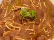 Zuppa fagioli tajarin