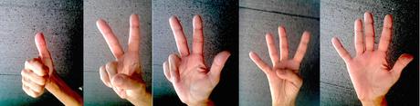 Fammi un po' il 3 con le dita!