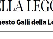 Sono d'accordo Ernesto Galli della Loggia