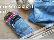 Come riciclare vecchi jeans cucire porta cellulare