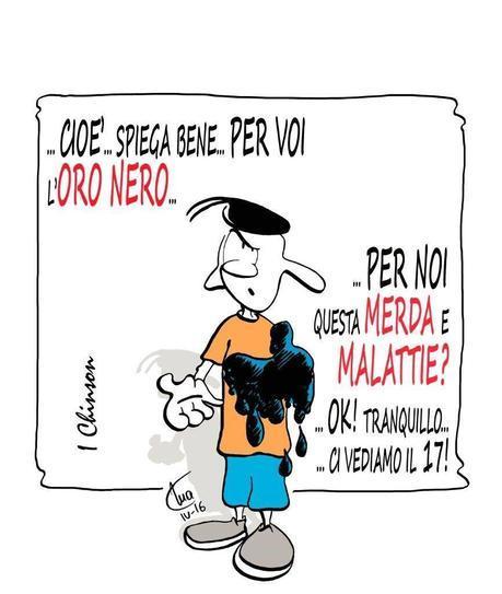 Mario Airaghi, I Chinson, Oro Nero e Referendum
