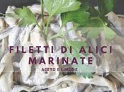 Filetti alici marinati