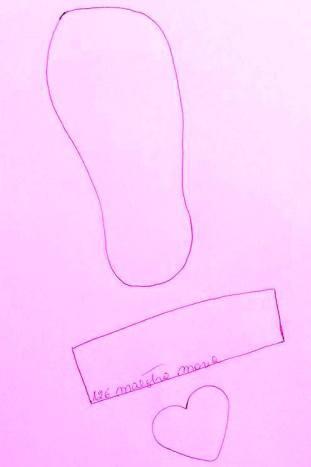 schema sandalo per mamma