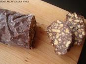 Salame cioccolato salame turco senza uova