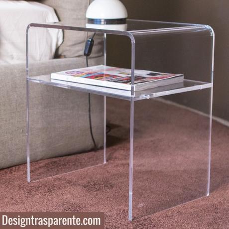 Comodini moderni trasparenti vendita on line paperblog for Comodini moderni