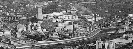 Disastri ecologici del passato: la Raffineria Garrone di San Quirico, nella Val Polcevera, in Liguria