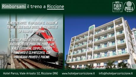 Vacanza a Riccione: l\'hotel Parco ti rimborsa il biglietto del treno ...