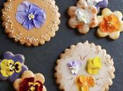 Biscotti frolla fiori