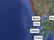itinerario nell'India