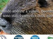 sterminio delle nutrie! Italiani brava gente!