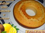 Ciambellone soffice limone cocco