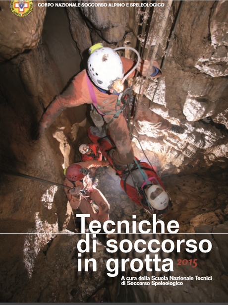 "Disponibile on line il manuale CNSAS ""Tecniche di soccorso in grotta"""