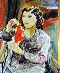 Ritratto della domestica, 1949 olio su tela cm 60x70