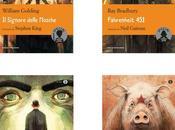 Gipi illustra copertine quattro romanzi distopici
