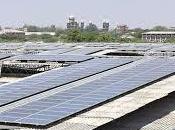 India tetto fotovoltaico grande mondo