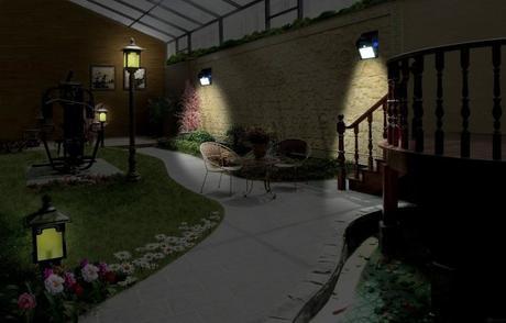 Luce solare per il giardino una soluzione smart luci giardino