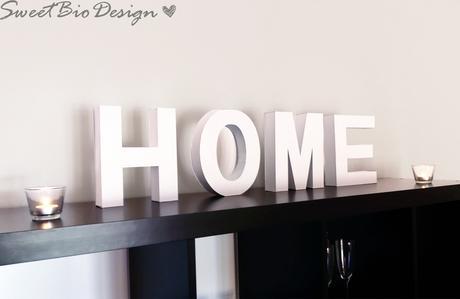 lettere per decorare la casa - home decor letters - paperblog - Arredamento Casa Home