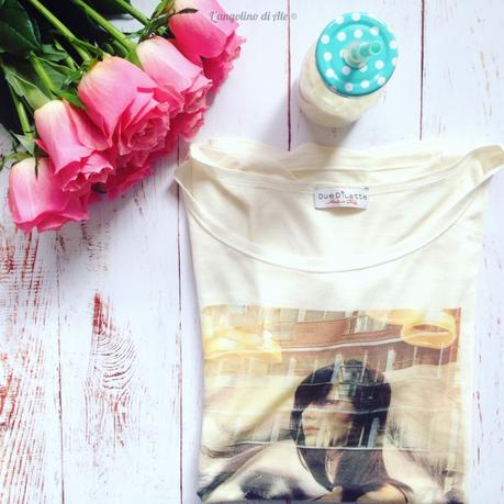 Le t-shirt al latte la Capsule Collection di Hélène Battaglia