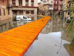 Licata: l'artista Christo costruirà passerella contro allagamenti
