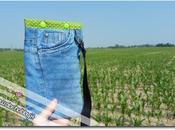 Borsetta jeans riciclo creativo