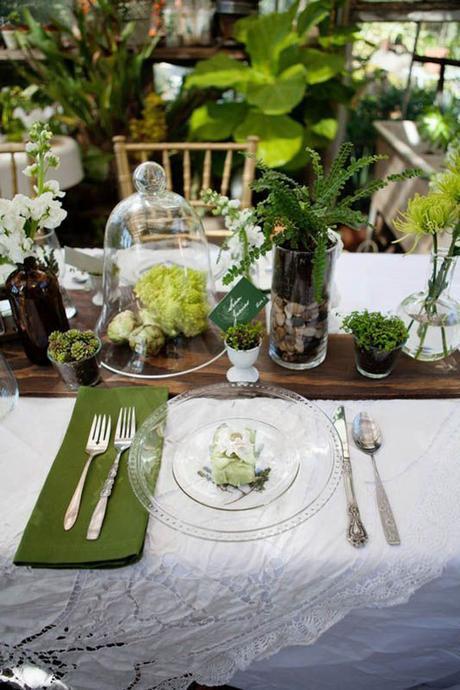 Matrimonio Tema Botanico : Idee per un matrimonio organico botanico paper