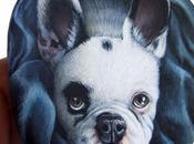 Doppio ritratto Rocky, bulldog francese
