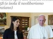 """Sull'ultimo pezzo Marco Politi proposito """"dell'entente cordiale"""" Papa Francesco santo fine renzismo pensiero libero, subito!"""
