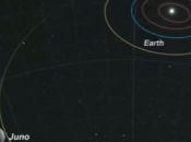 sonda Juno giunta nell'orbita Giove, portando tanta Italia