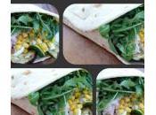 Piadina, verdure grigliate, mozzarella cotto: ricetta sana