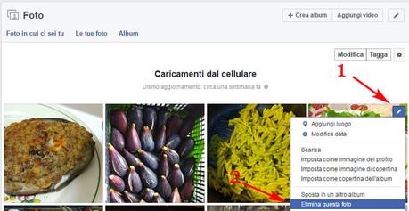 Come eliminare account Facebook
