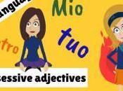 aggettivi possessivi. About possessive adjectives Italian