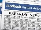 Facebook: Arrivo Instant Articles
