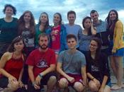 Capocastello giovani Servizio Civile Internazionale arrivano tutto mondo contribuire all'allestimento Castellarte.