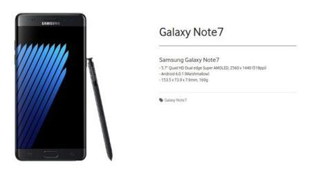 Samsung Galaxy Note 7 Samsung Mobile Press