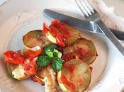 Zucchina siciliana padella