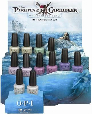 News: OPI Pirates of the Caribbean Collection