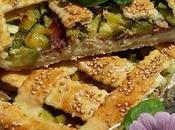 Torta salata ricotta prosciutto dadolata zucchine