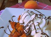 Gelato fiordilatte albicocche caramellate