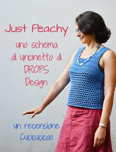 Just Peachy Schema Per Top Estivo Alluncinetto Paperblog