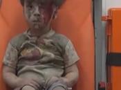 "Bambino cos'è guerra ""Bombardamento Aleppo"""
