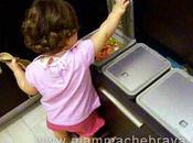 Educare piccoli alla raccolta differenziata