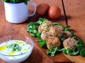 Zucchini balls: polpette zucchine greche