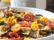 Giardino alla Tavola Zucchini Pomodori Forno Ovenbaked Courgette Cherry Tomatoes