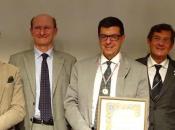 Cavalieri d'Italia Convegno premiano Prof. Gian Carlo Renzo