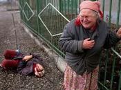 bambola carta nell'inferno della guerra Cecenia