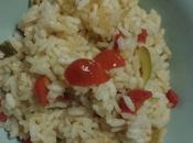 Primo piatto zucchine pomodori piccanti