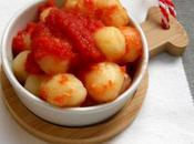 Gnocchi pomodoro patate rosse cotte sale