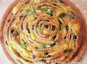 Gira Spirale Pane Pesto Bread Spiral with Basil