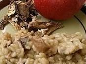 Risotto funghi mele: primo piatto veloce gusti nuovi