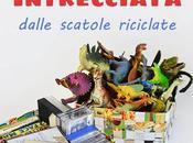 Cestini carta intrecciata tutorial riciclo creativo